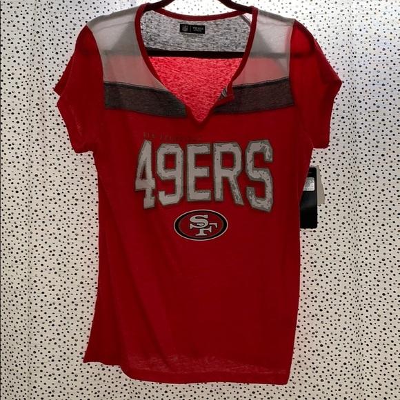 san francisco 49ers womens shirts